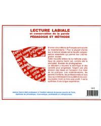 LECTURE LABIALE ET CONSERVATION DE LA PAROLE. PEDAGOGIE ET METHODE (V.numérique)