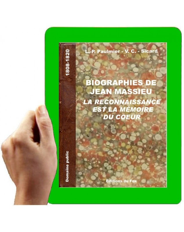 1808-1820 Biographies de Jean Massieu