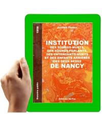 1858 - Institution des Sourds-Muets de Nancy