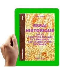 1844 - Essai historique sur la condition sociale et l'éducation des Sourds-Muets