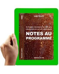 1880 - Notes au programme (Boselli)