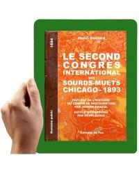 1893-Second congrès international des sourds-muets, Chicago, 1893