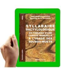 1823-Syllabaire dactyllologique