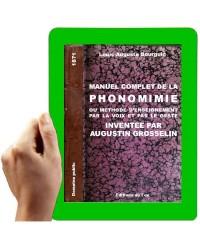 1871- Manuel complet de la Phonomimie de Grosselin