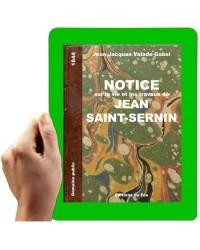 1844 - Notice sur Saint-Sernin (Valade-Gabel)