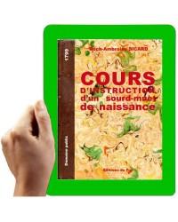 1799 - Cours d'instruction (Sicard)