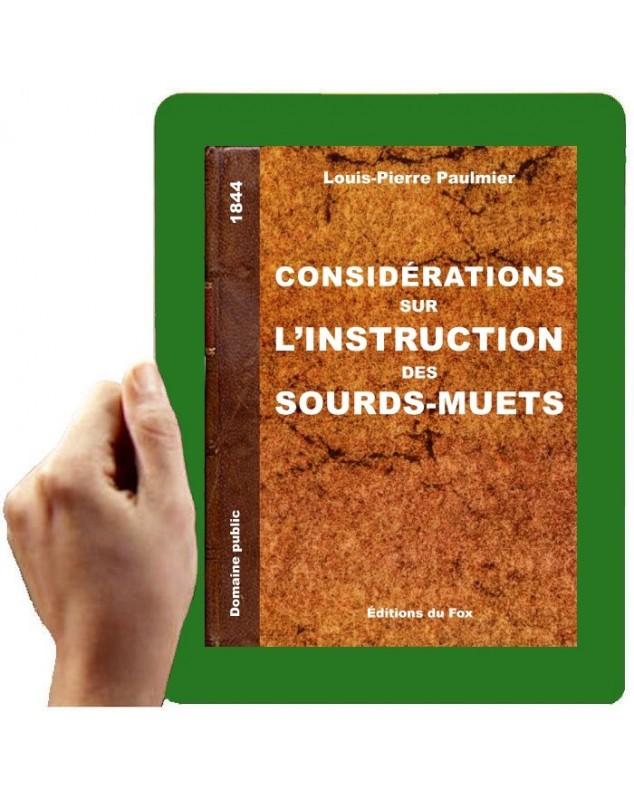 1844-Considérations sur l'instruction des SM (Paulmier)