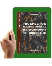 1793 - Prospectus INSM Bordeaux