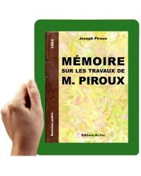 1864-Mémoire sur les travaux de M. Piroux