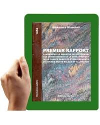 1852-Premier rapport... Blanchet, A.