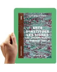 1868 - Art d'instituer les signes, les sourds-muets du présent  siècle (L.-A. Copon)