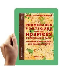 1826- Promenades poétiques dans les hospices et les hôpitaux de Paris