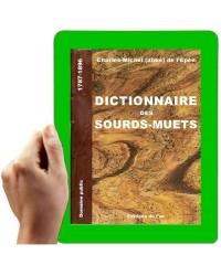 1787 - Dictionnaire des Sourds-Muets  (Abbé de l'Epée)