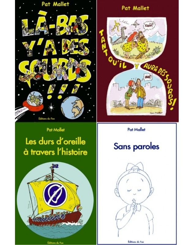 Collection Pat Mallet ( 4 livres)