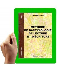 1846 - Méthode de dactylologique, de lecture et d'écriture