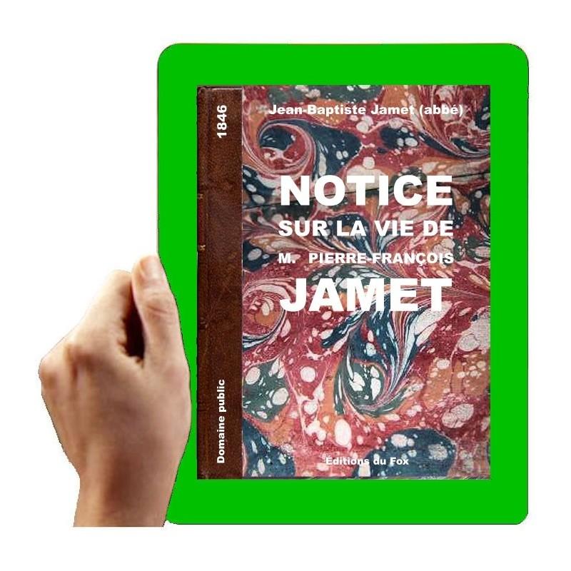 1845 - Notice sur l'abbé Jamet (Jamet, J.-B.)