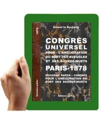 1878-Congres international de Paris