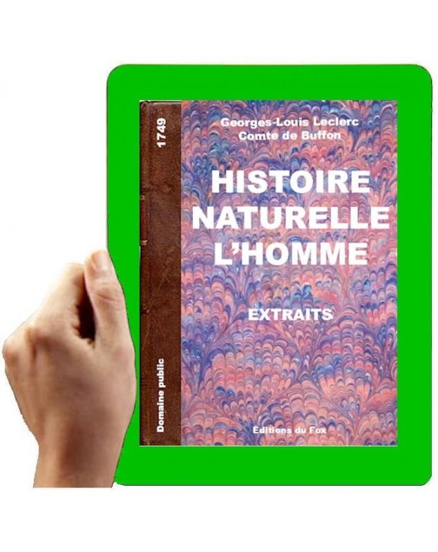 1789 - histoire naturelle de l'homme