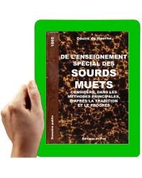 1865 -DE L'ENSEIGNEMENT SPÉCIAL DES SOURDS-MUETS. CONSIDÉRÉ, DANS LES MÉTHODES PRINCIPALES-