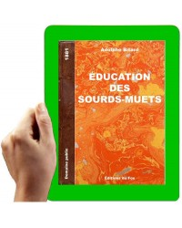 1881 - Education des sourds