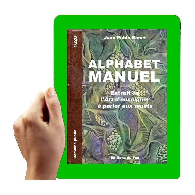 1620 - Alphabet manuel de Bonet Pablo