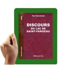1896-Discours du lac de Saint-Fargeau (Paul Deschanel)