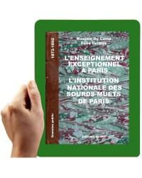 1873-1892- Enseignement exceptionnel à Paris l'instituton nationale des SM des