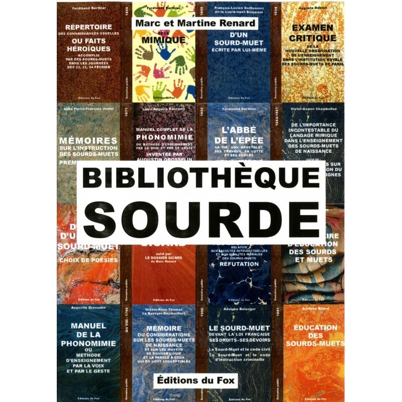 Bibliothèque sourde (n° 1 (138 titres) sur Clé USB