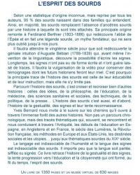 L'esprit des sourds (Yves Bernard)